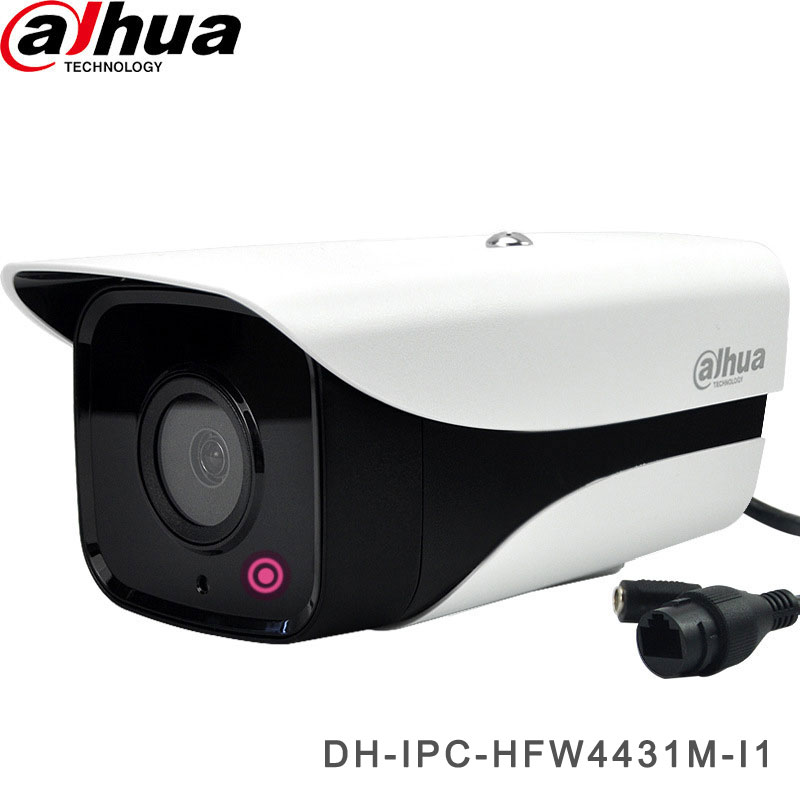 Network CCTV Camera 4MP 50M IR H.265 Bullet Camera DH-IPC-HFW4431M-I1