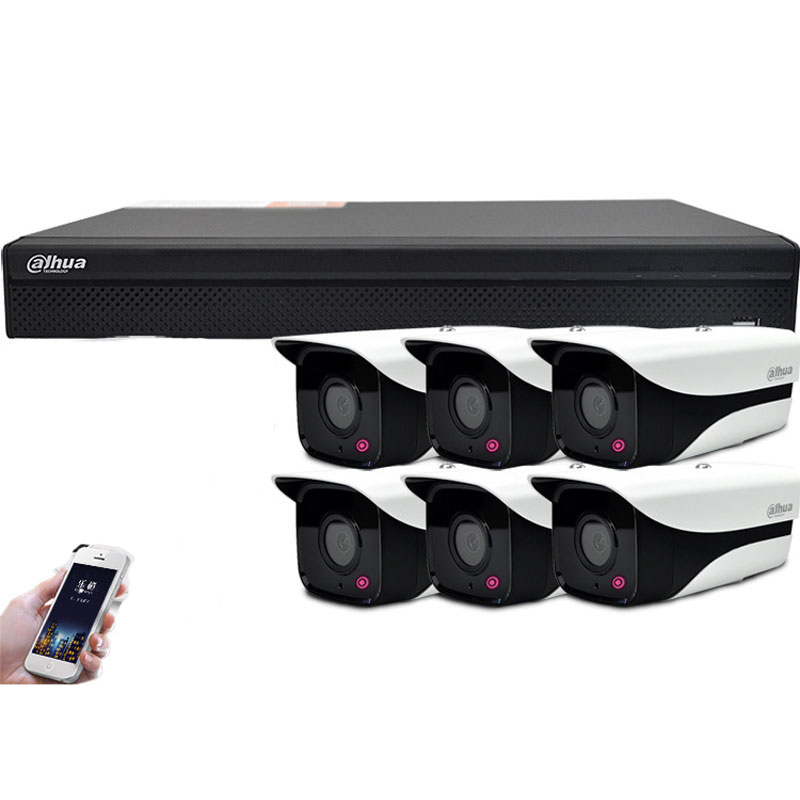 Surveillance Cameras Monitoring Kit 4CH With 4MP HD POE Camera