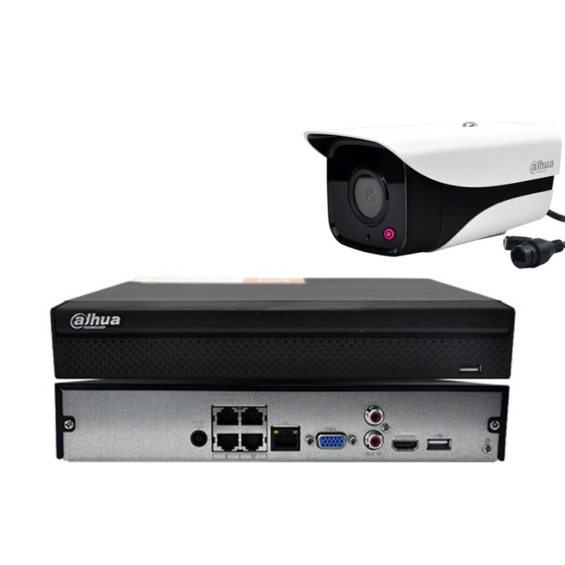 Surveillance Cameras Monitoring Kit 4CH With 1.3MP HD Camera