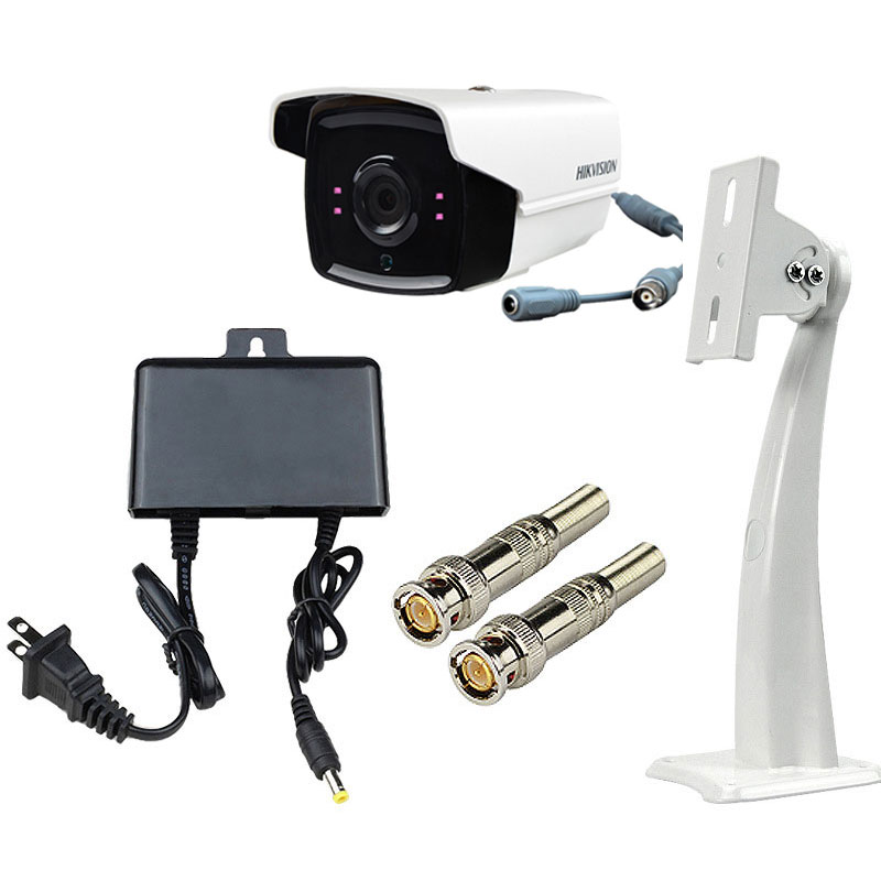 Surveillance Cameras Monitoring Kit With 4CH Video Recording DC12V2A Power Supply