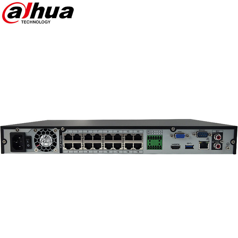 Dahua 16CH NVR DVR CVI HVR POE Network Video Recorder DH-NVR4216-16P
