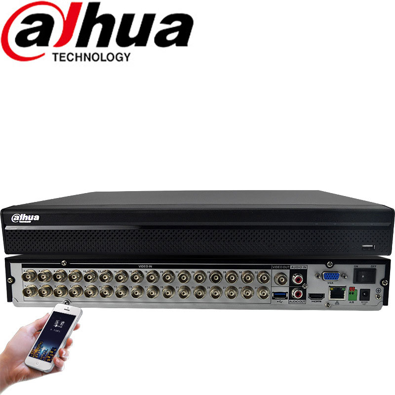 Dahua 32CH HCVR H.264 1080P HDCVI Video Recorder Support 8TB DH-HCVR5232AN-V4