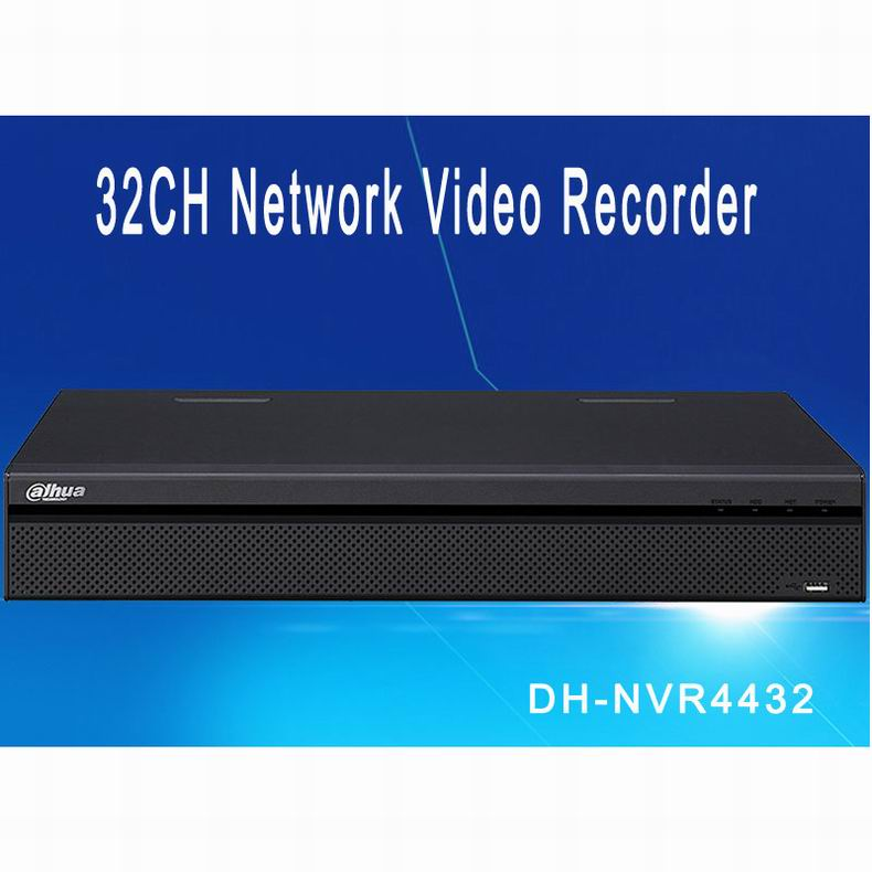 Dahua NVR 32CH 4HDD Support Up To 5MP Recording Resolution DH-NVR4432