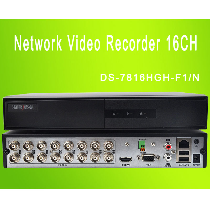 Network Video Recorder 16CH HDCVI&Analog&IP DS-7816HGH-F1/N