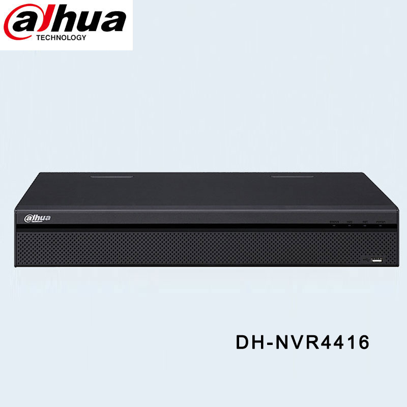 HIK 16CH POE Network Video Recorder 4K NVR Support 4 SATA HDDs DH-NVR4416