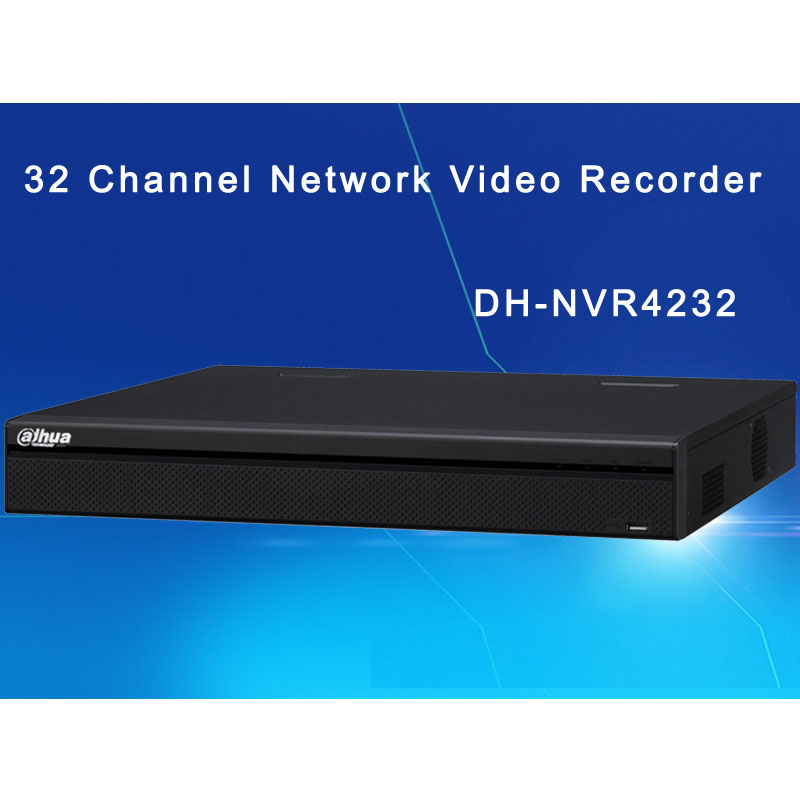 Dahua 32 Channel Network Video Recorder With 1U Case 2 SATA DH-NVR4232