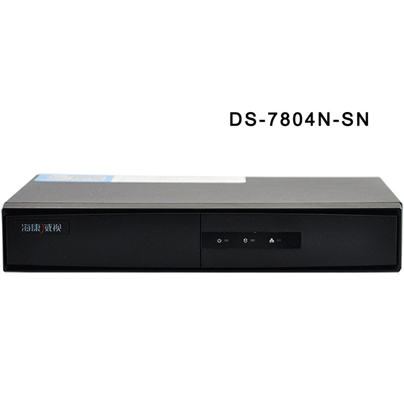 HIK 4 Channel Network Video Recorder With 1 SATA HDMI/VGA DS-7804N-SN
