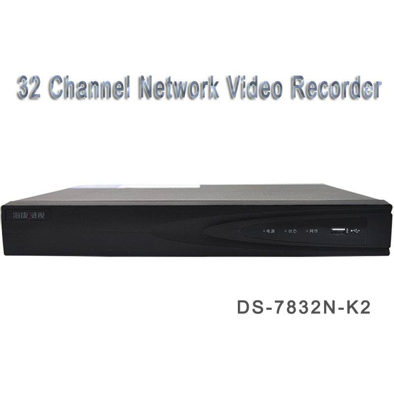 HIK 32 Channel Network Video Recorder Support ONVIF 2 SATA DS-7832N-K2