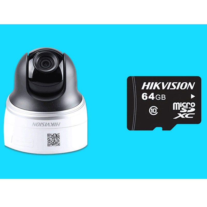 HIK 4MP PTZ Camera Support WIFI TF Card Smart Security Camera DS-2DC2402IW-D3