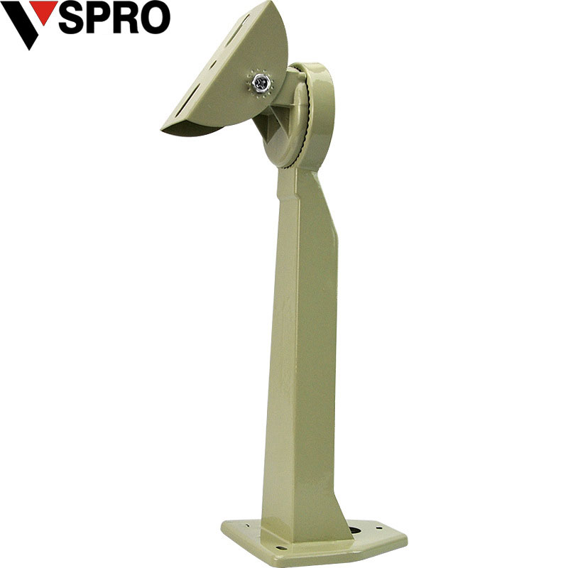 VSPRO Aluminium Wall Mount Bracket Beige For Security Camera 5015