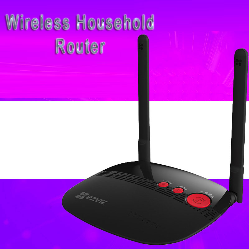 Wireless Household Router Smart Router Black WIFI Signal Low Radiation W1