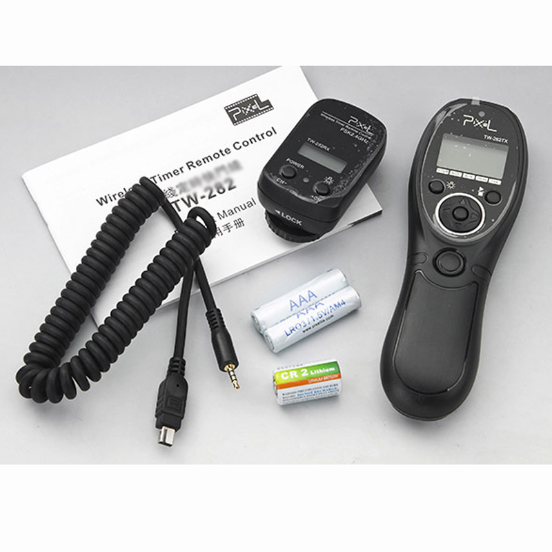 HOT SELLING TW-282 DC2 Wireless Timer Remote Control Shutter Release for Nikon D3100,D3200,D3300,D5000