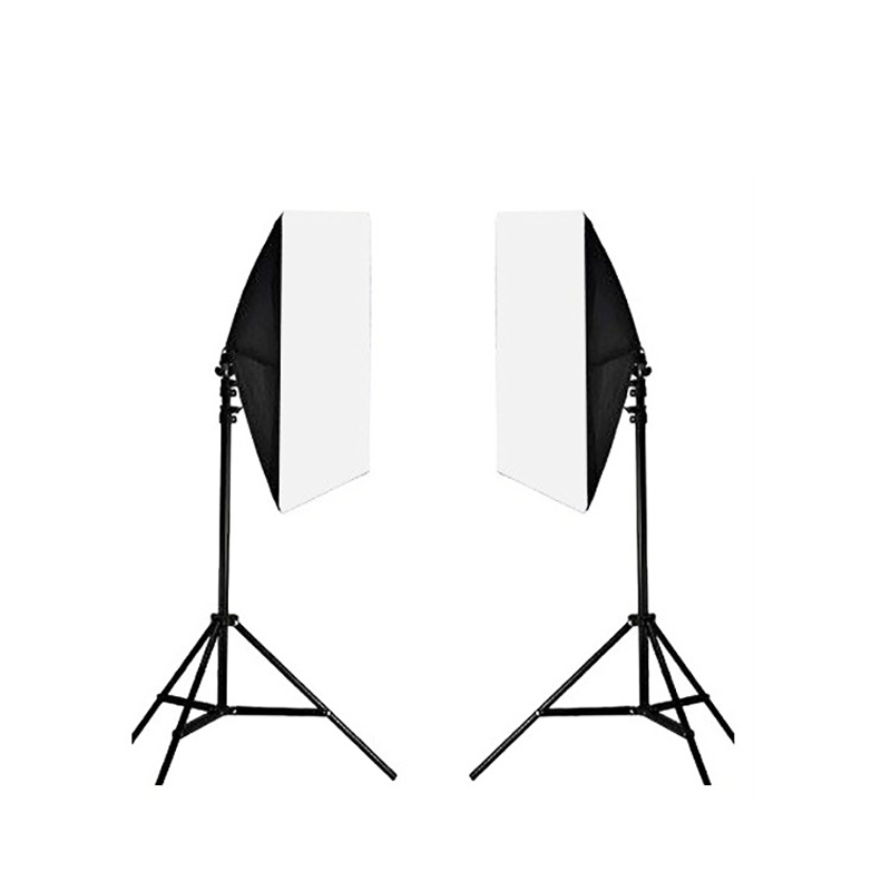 Lighting Kit Photography Softbox Photo Equipment Four Lamp Head Soft Box 50*70CM