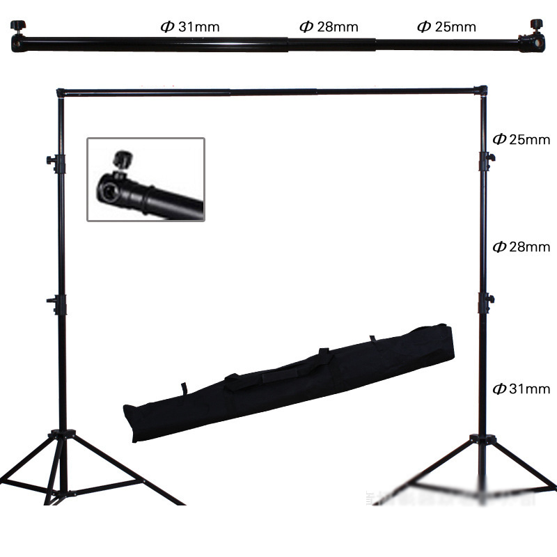 Best Quality 2.8*3M Photography Background Photo Backdrops Support System Stands Studio
