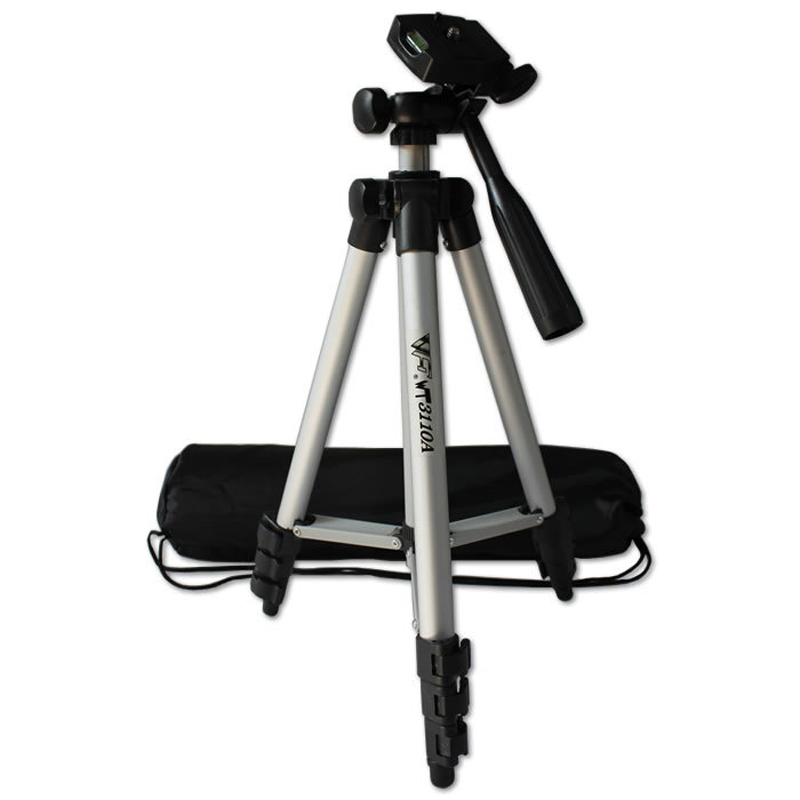 Universal Portable Tripod Professional Camera Tripod Phone Holder Camera Accessories Travel Outdoor Photographic Selfie