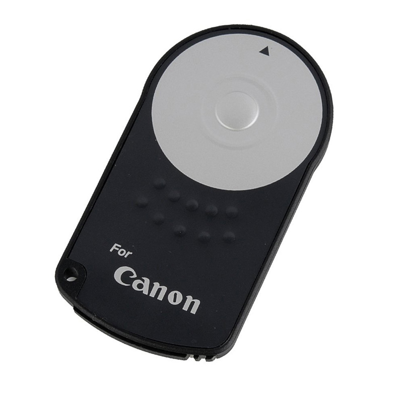 HIGH QUALITY RC-6 IR Infrared Wireless Remote Control Shutter Release For Canon EOS 7D 5D Mark II III 6D 500D 550D 600D 650D 700