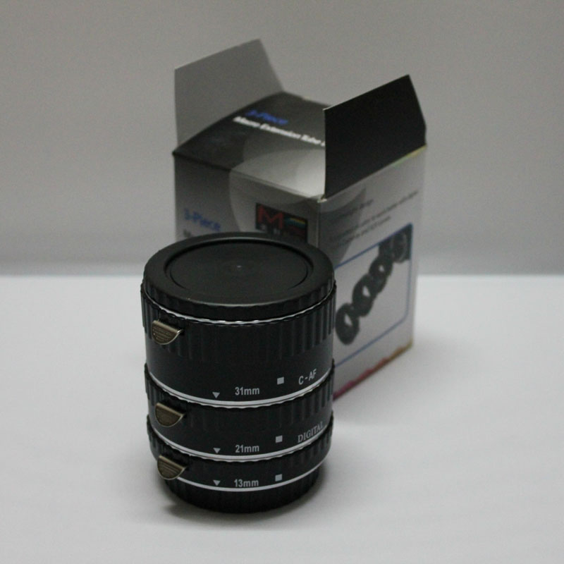 HOT Sale MK-C-UP AF Auto Focus Macro Close-up Extension Tube Reverse Adapter Ring Tube for Nikon EOS 760D 750D 7D2 5D3 5DR 5DRS