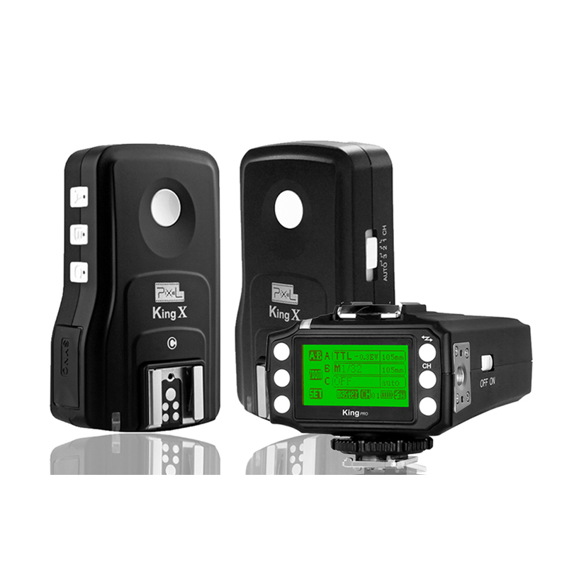 New King Pro 1drag2 2.4G Wireless TTL 1/8000S Flash Trigger For Canon 7D 5D2 5D3 5D4 60D 650D 580EX 600 DSLR Cameras