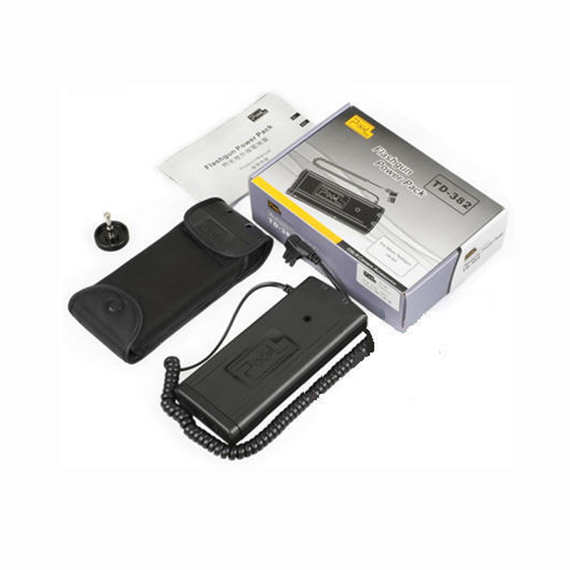 Flash Power Battery Pack For Nikon SB-910 SD-9 SD-9A SB-900 TD-382