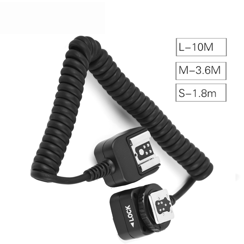 High Quality TLL Off-Camera Remote Flash Speedlite Hot Shoe Sync Extension Cord Flashgun Cable For Canon 5D Mark III 1100D 650D