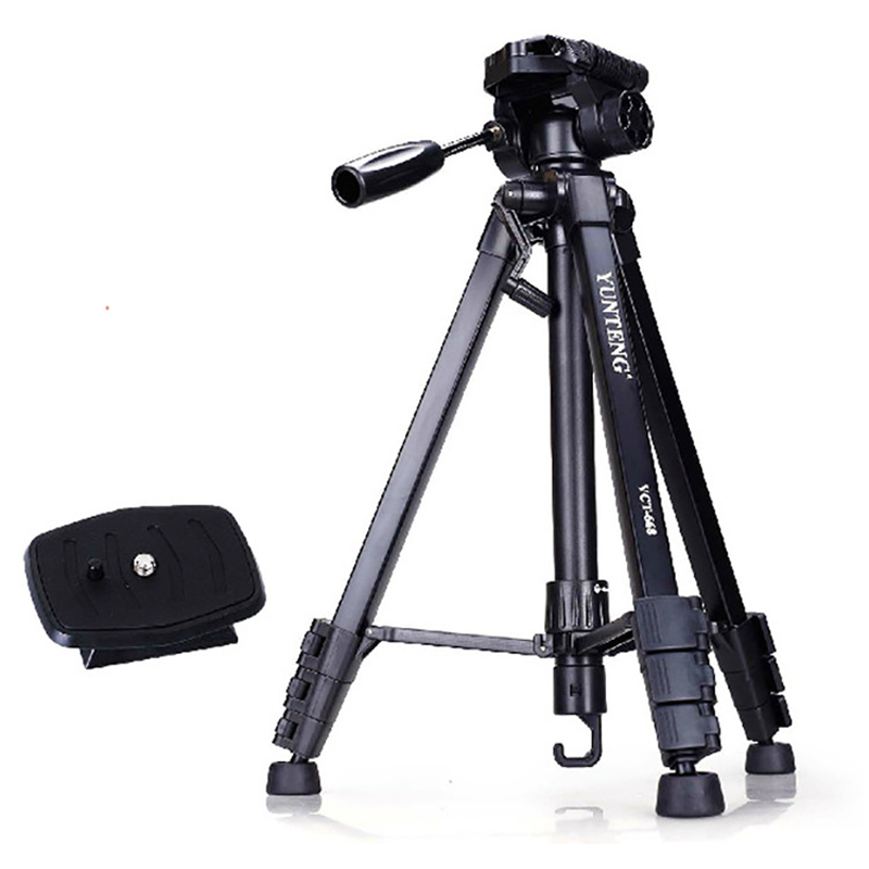 Aluminum Portable Photographic Tripod Monopods For Video Camera Stand Tripod Canon Nikon Universal Tripod