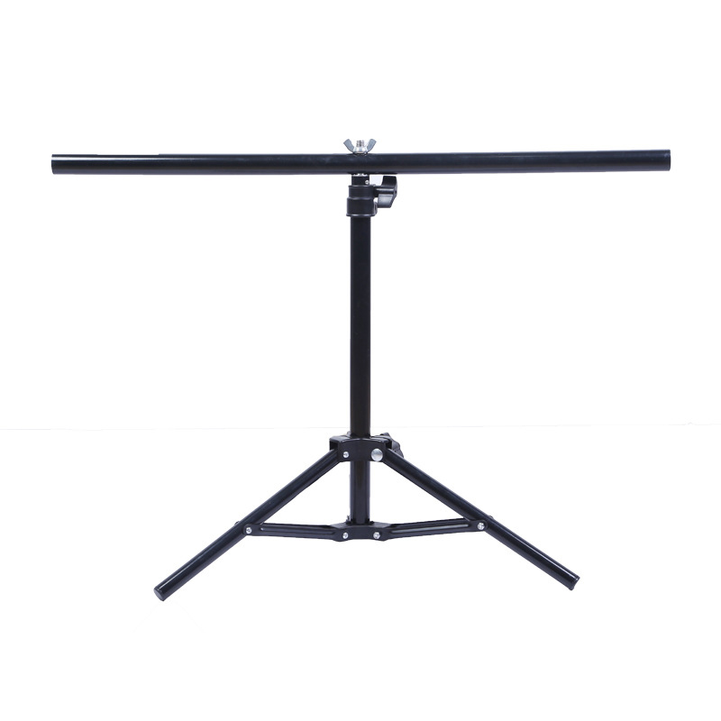 Metal T-type Photography Background Frame Portable Telescopic Display Stand