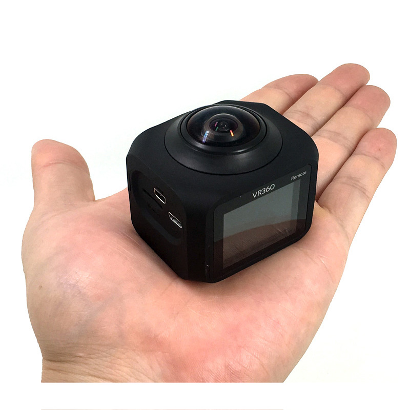 1.5 Inch LCD Screen Panoramic Camera 1080P HD Video Camera VR360