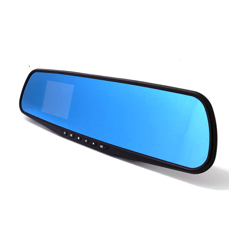 2.8 inches Blue Mirror Night Vision Vehicle Mounted Car DVRs K901