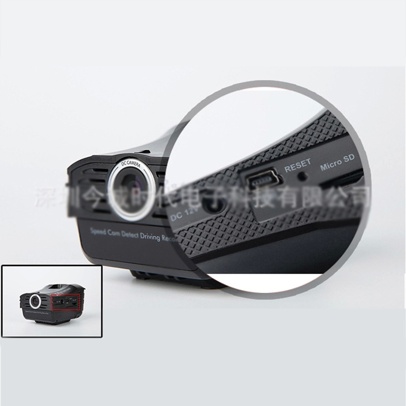 Night Vision Car DVR Camera Vehicle Mounted 2.4 inches Car DVRs A8