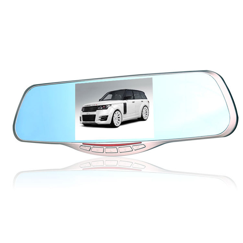 Wide Angle Android Support Vehicle Camera 5 inches Car DVR E512