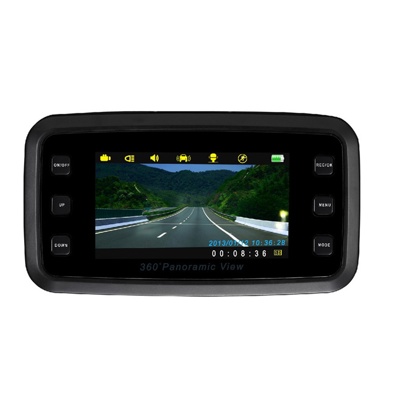 High Definition 2.7 inches Night Vision Video Recorder Car DVRs H6000