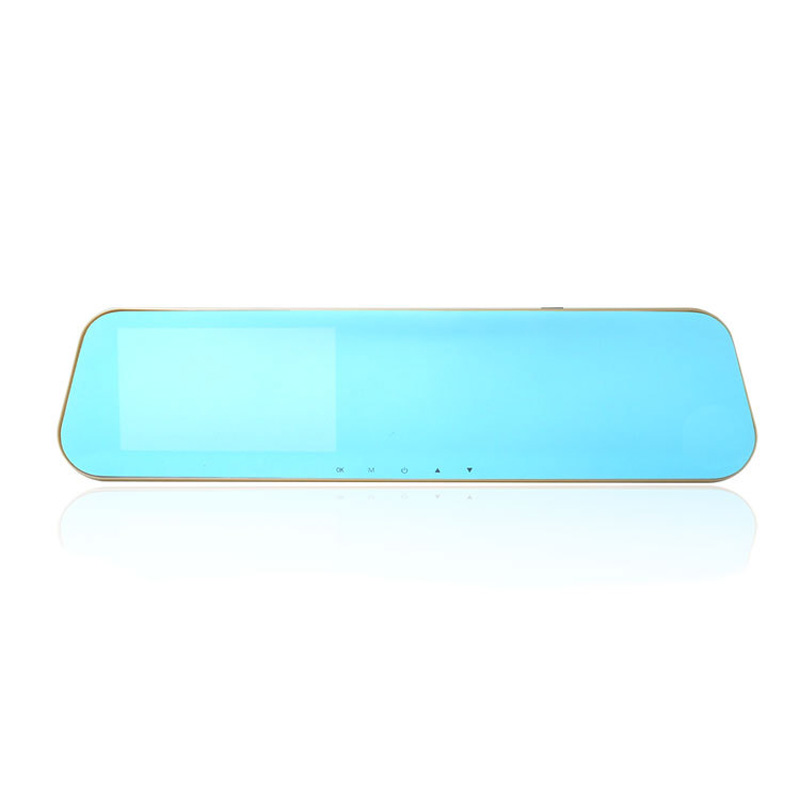 4.3 inches High Definition Wide Angle Blue Mirror Car DVR L9100