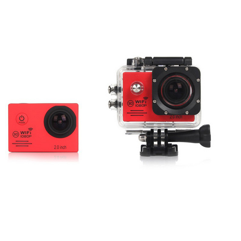 2.0 Inch Screen 30m Waterproof WiFi Sports Camera SJ7000