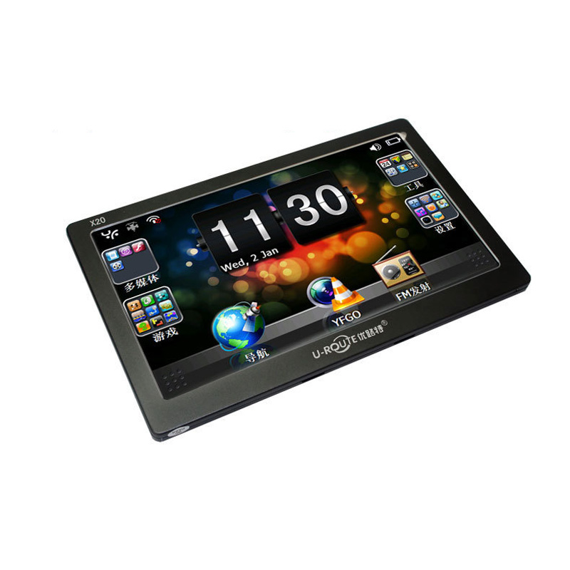 Car GPS Navigation 7 inches WIFI Navigators Vehicle GPS X20