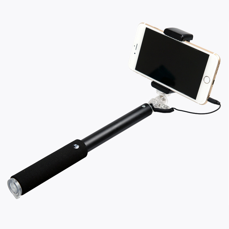 New Arrival Wired Portable Selfie Stick for iPhone Android RK902
