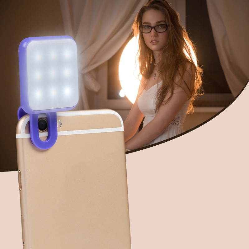 New Style Hot Selfie Clip Flash Light for Mobile Phone RK-10