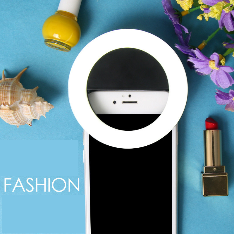 Hot Sale Selfie Circular Flash Light for Mobile Phone RK14