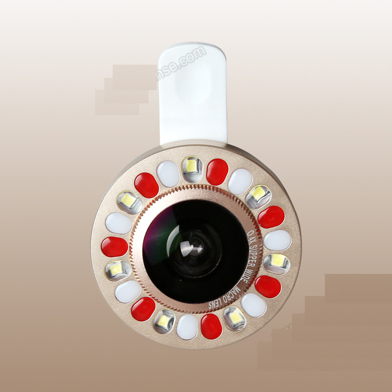 New Style LED Fill Light Selfie Flash Light for Mobile Phone RG66
