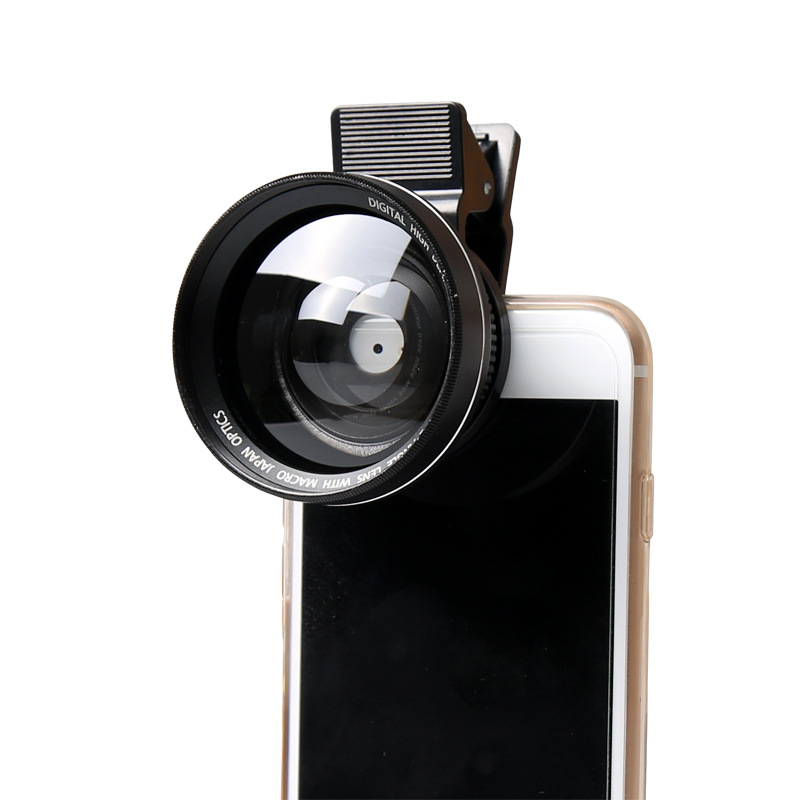 Universal Clip 0.65X Wide Angle Lens Camera Lens for Mobile Phone