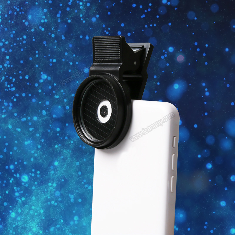 Special Effect Filter Lens Clip Camera Lens for Mobile Phone star 8