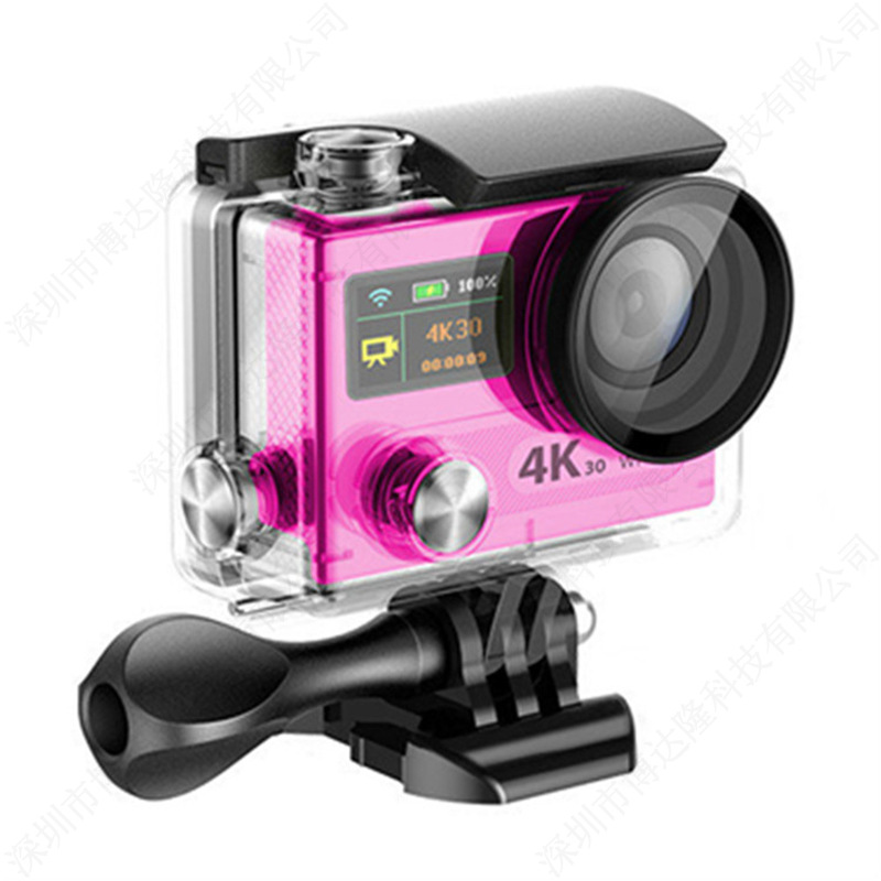 HD Original Wide Angle Lens WIFI Camera Sport Camera H8R