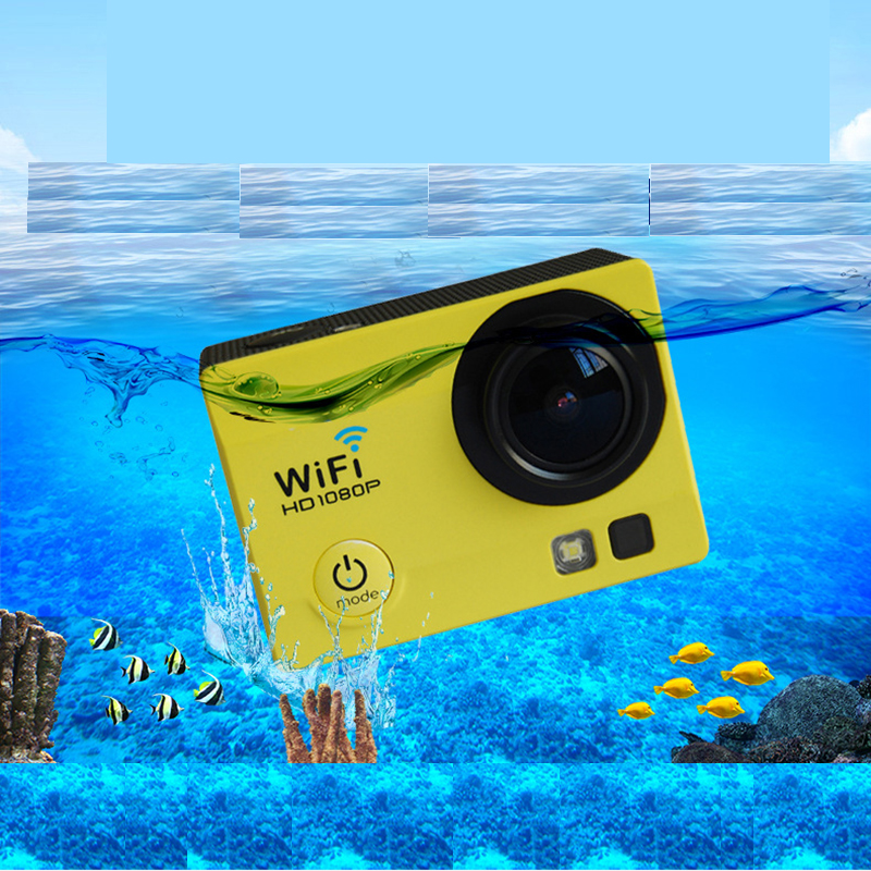 New Style HD Outdoor Waterproof Camera VR Sport Video Camera Q3