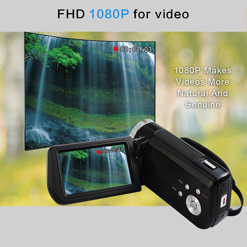 Household 3 inches 24 million Pixels Full HD Video Camera Camcorder z3
