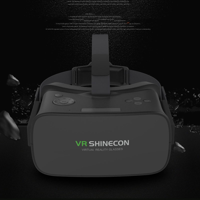 Household VR SHINECON Head Mount 3D Virtual Reality Glass VR Smart Glasses