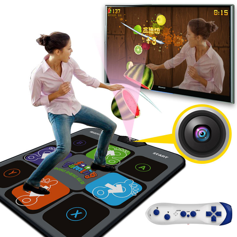 Fashion Household Single Dance Pad Machine Thickened Dancing Mat