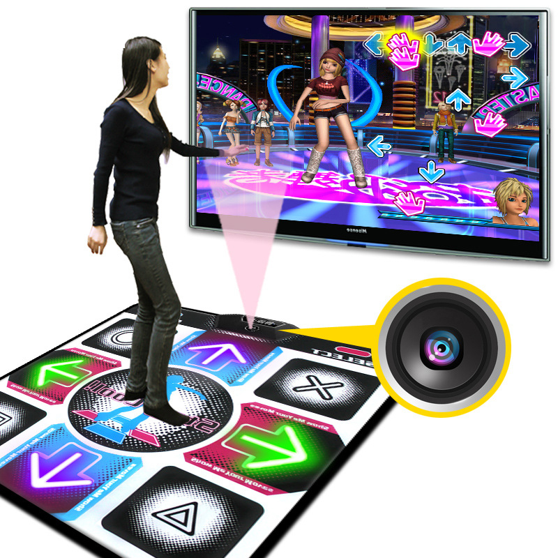LED Luminescence Household Single Dancing Mat Machine Thickened Dance Pad