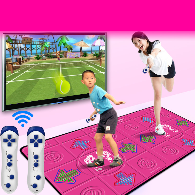 Hot Sale Household Double Dancing Mat Thickened Dance Pad