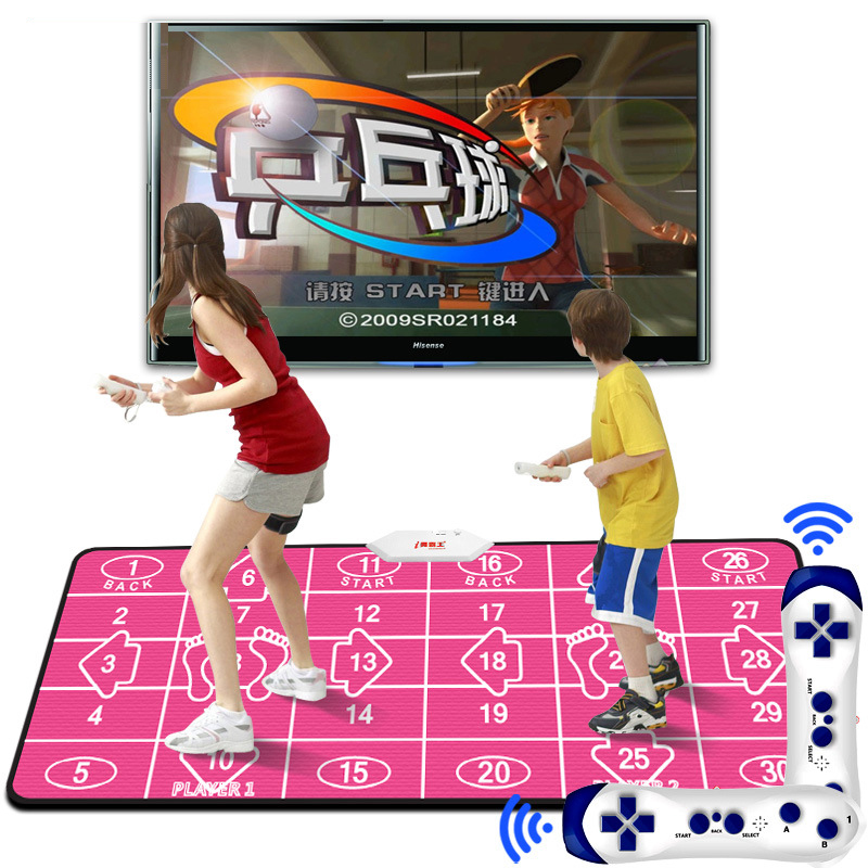 New Design Thickened Double Dancing Mat Household Dance Pad