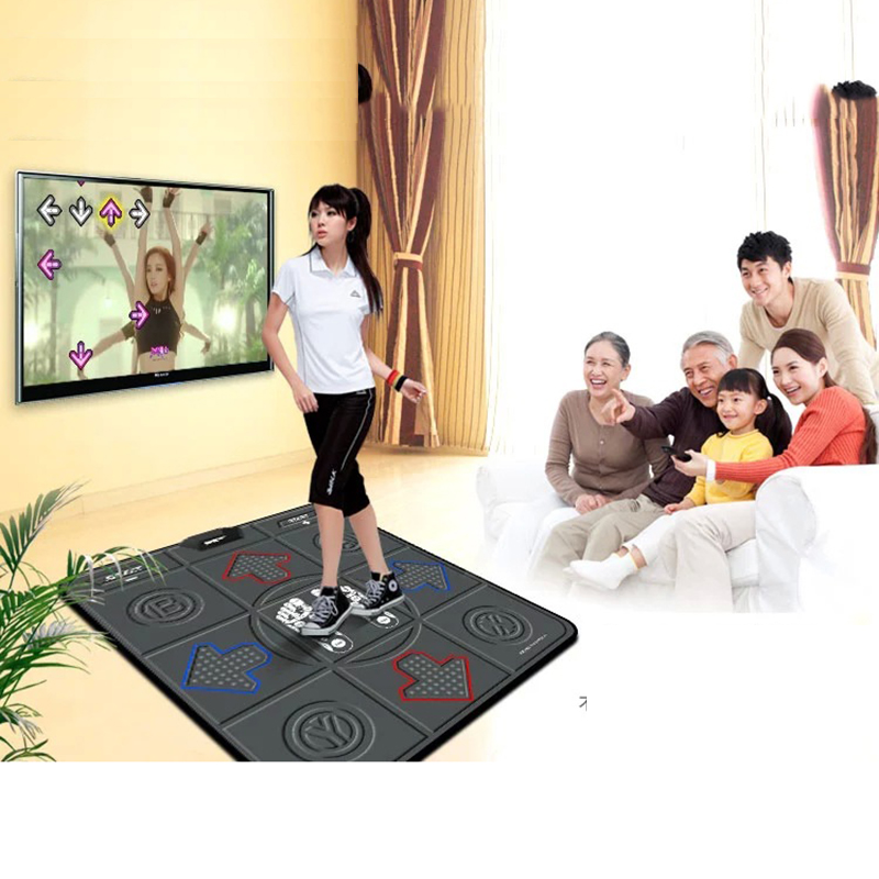 Fashion Fitness Single Dancing Step Game Mat Household Dance Pad