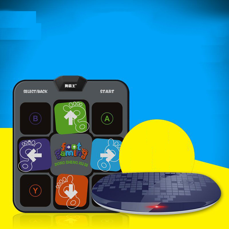 Wireless Game Dance Machine Dancing Step Household Single Dance Pad